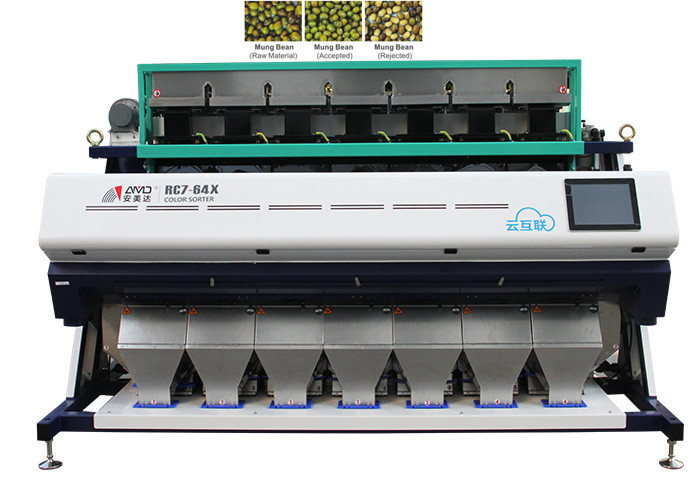High Precision Industrial Sorting Machine For High Resolution Color Sorting