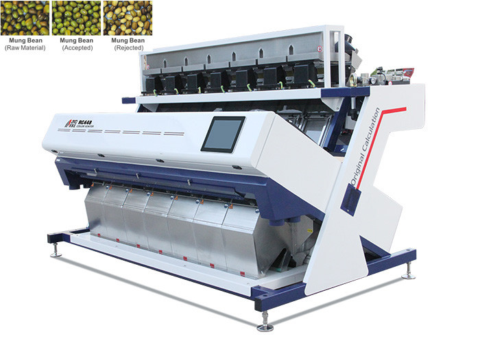 RC7 Bean Vision Color Sorter , High Accuracy 1.9-3.2 KW Color Separator Machine