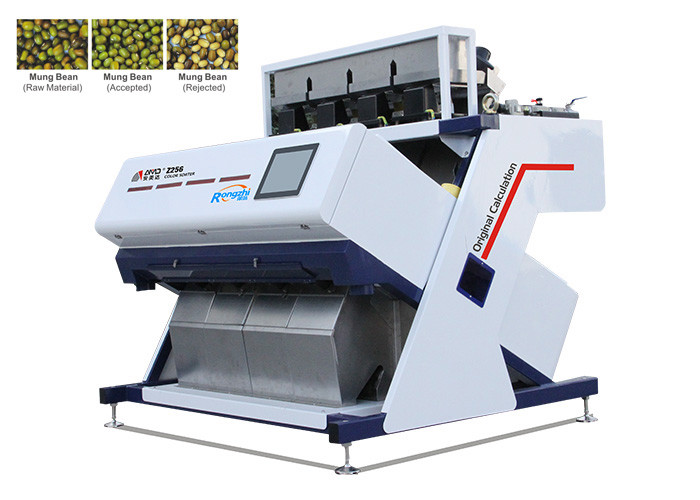 Intelligent Operating System Bean Color Sorter Machine High Accuracy