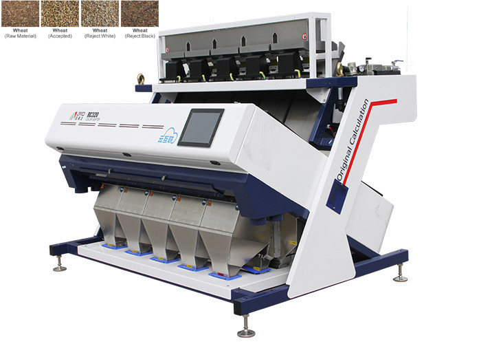 RC5 Wheat Color Sorter Machine 2.5-15 T/H with Remote Control System