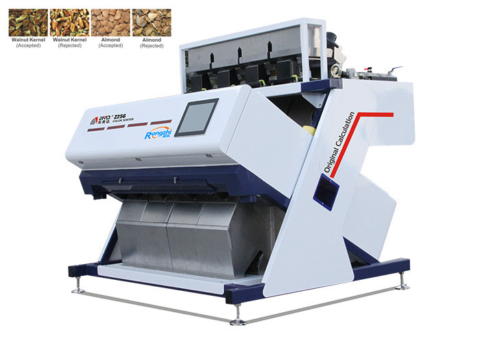 High Throughput Cashew Nut Sorting Machine Features Simple Parameters