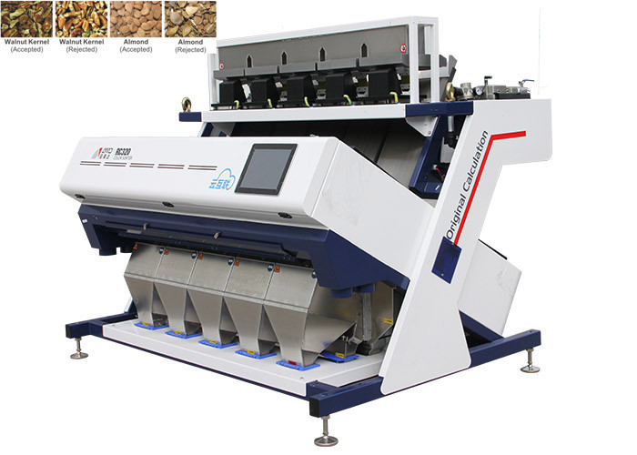 RC5 High Capacity Nuts Color Sorter High - Definition Imaging Technology