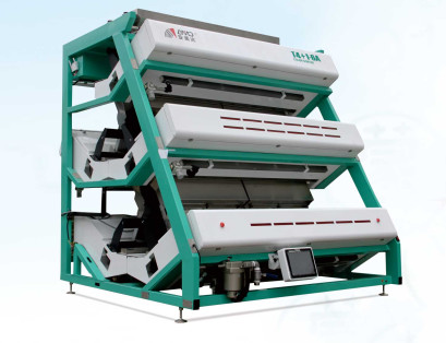 High Accuracy Any Sort Color Sorter / Tea Sorting Machine 0.6-0.8 Mpa